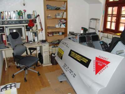 Homemade F 16 Flight Simulator Cynical C