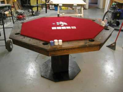 If Youu0027re Interested In Building A Poker Table U2026 Itu0027s Easier Than You  Think. Here Are My Favorite Links To Homemade Poker Tables. Most Of These Poker  Tables ...