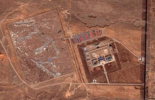 China s area 51 on google earth cynical c for Chinese in the area