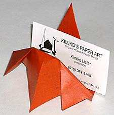 Make an Origami Card HolderCynical-C