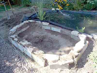 How to build a pond in your backyard outdoor goods for Build a pond in your backyard