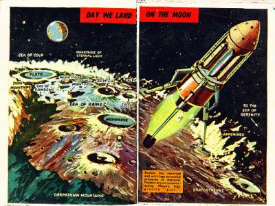 space art in childrens books