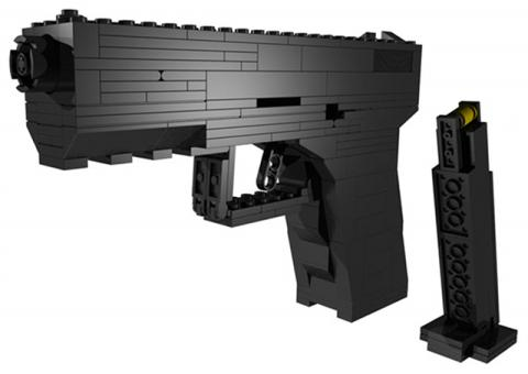 Assembling a LEGO Gun in Your Office May Bring a SWAT Team – Cynical-C