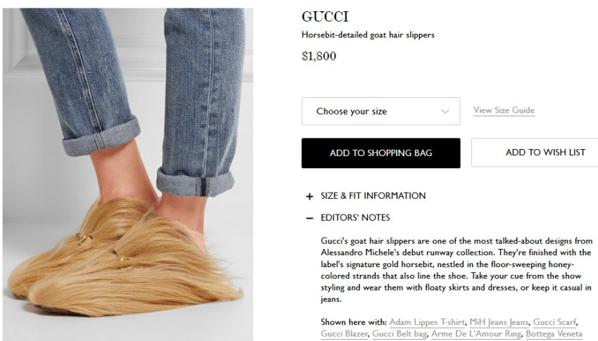 4df90bc7c392cd Gucci Horse-bit Detailed Goat Hair Slippers – Cynical-C